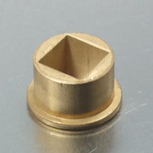 Square Brass Flange Bush